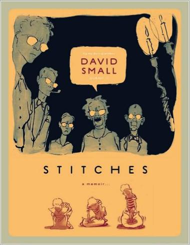 Cover of David Small's graphic memoir, Stitches.