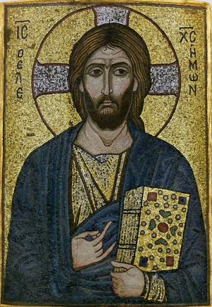 Christ the Merciful (e.12th cen), Museum für Byzantinische Kunst, Bode-Museum, Berlin